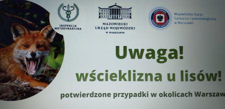 Wścieklizna!!! Uważaj!!! Potwierdzone przypadki w okolicach Warszawy!